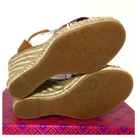 Tory Burch Pink Wedges Image 5