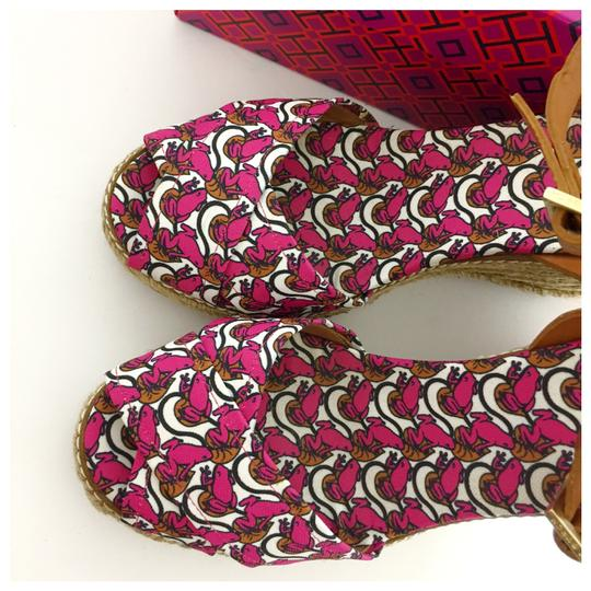 Tory Burch Pink Wedges Image 6