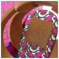 Tory Burch Pink Wedges Image 8