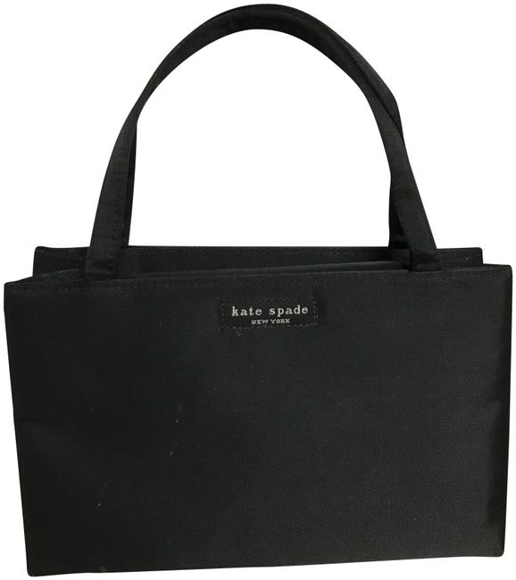 Item - Small Black Silk Satchel