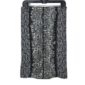 Anthropologie Pencil Mini Skirt Black