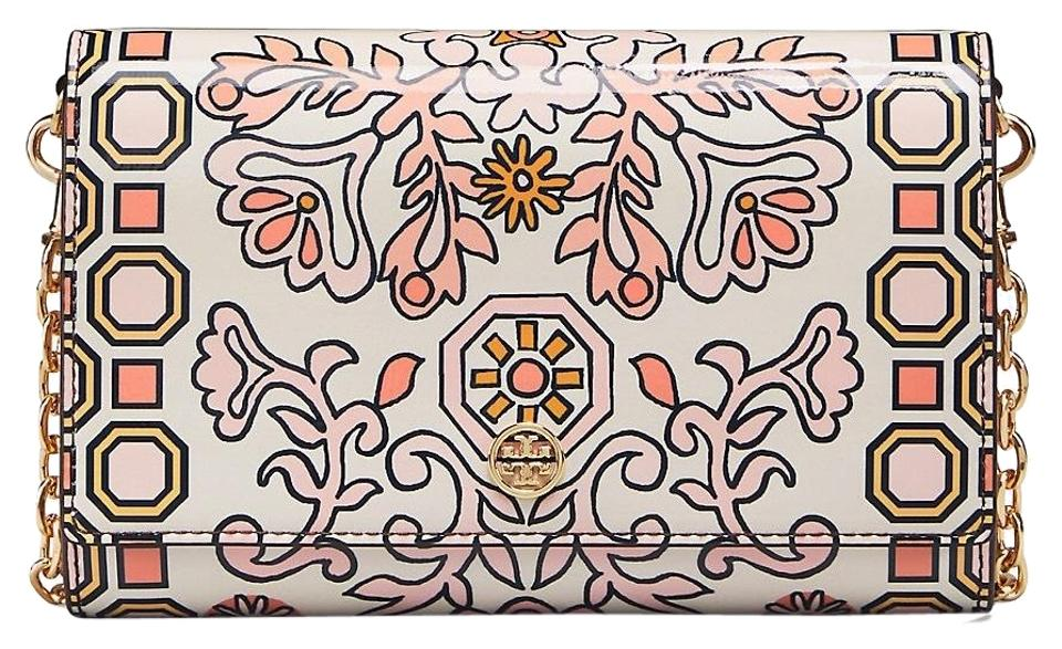 Clutch Burch Chain Hicks Leather Patent Tory Wallet Garden 6wHdqR