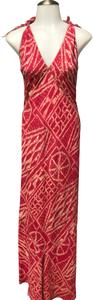 Pink Maxi Dress by Burning Torch Red Tie Dye Anthropologie