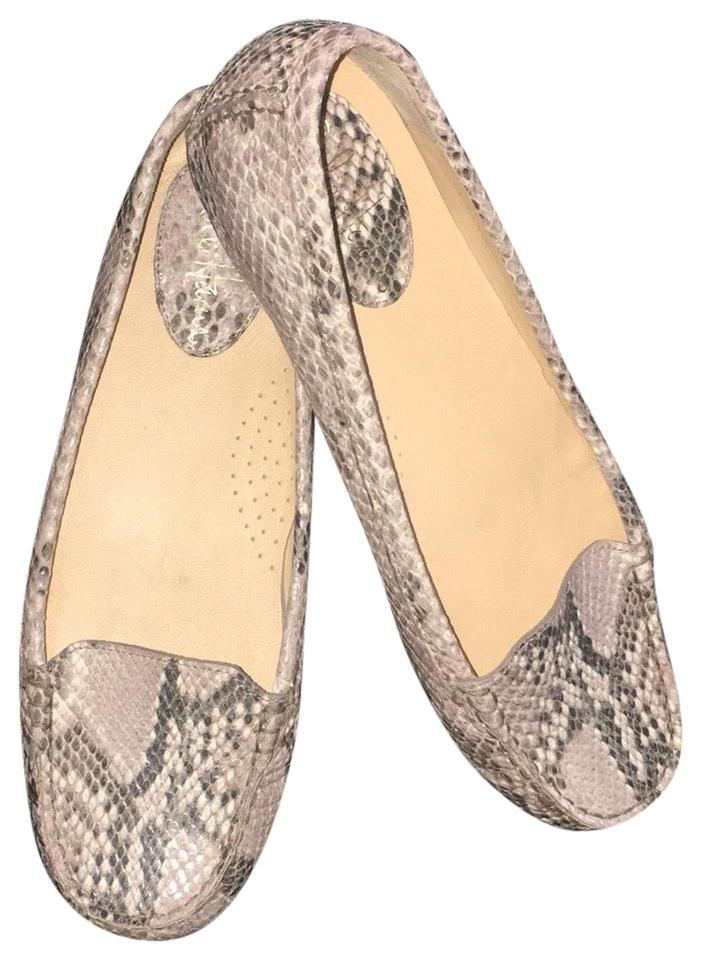 4c7591ebfad Cole Haan Snake Skin Cary Flats Size US 8 Regular (M