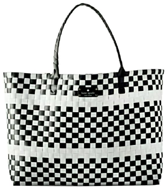 Item - Limited Edition Woven Black/White Beach Bag