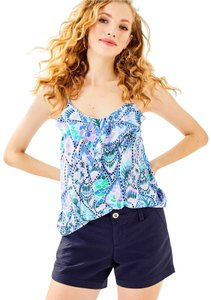 Lilly Pulitzer Top Costal Blue