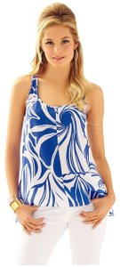 Lilly Pulitzer Top Iris Blue