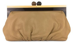 Kate Spade Shopping Night Night Out Casual Work Beige Clutch
