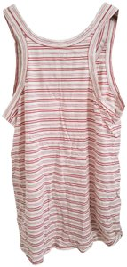 Ann Taylor LOFT Vintage Top Red and White Striped