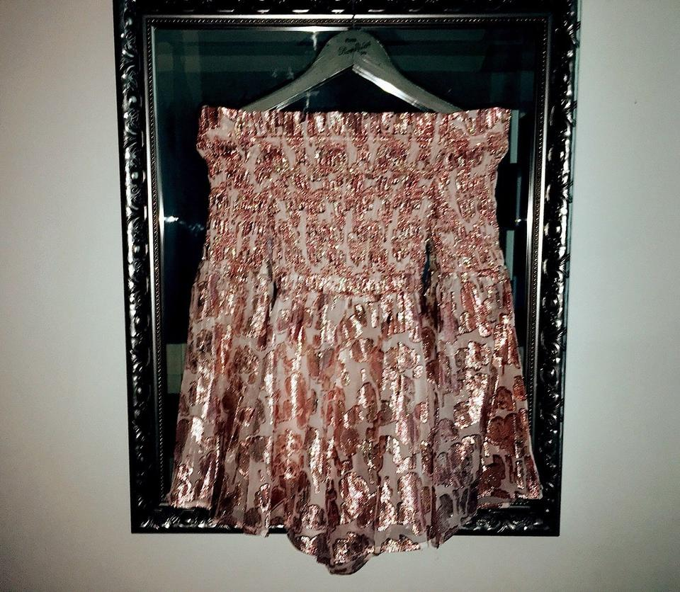 449d626590 alice McCALL Champagne Pink Metallic Free People Doing It Right ...