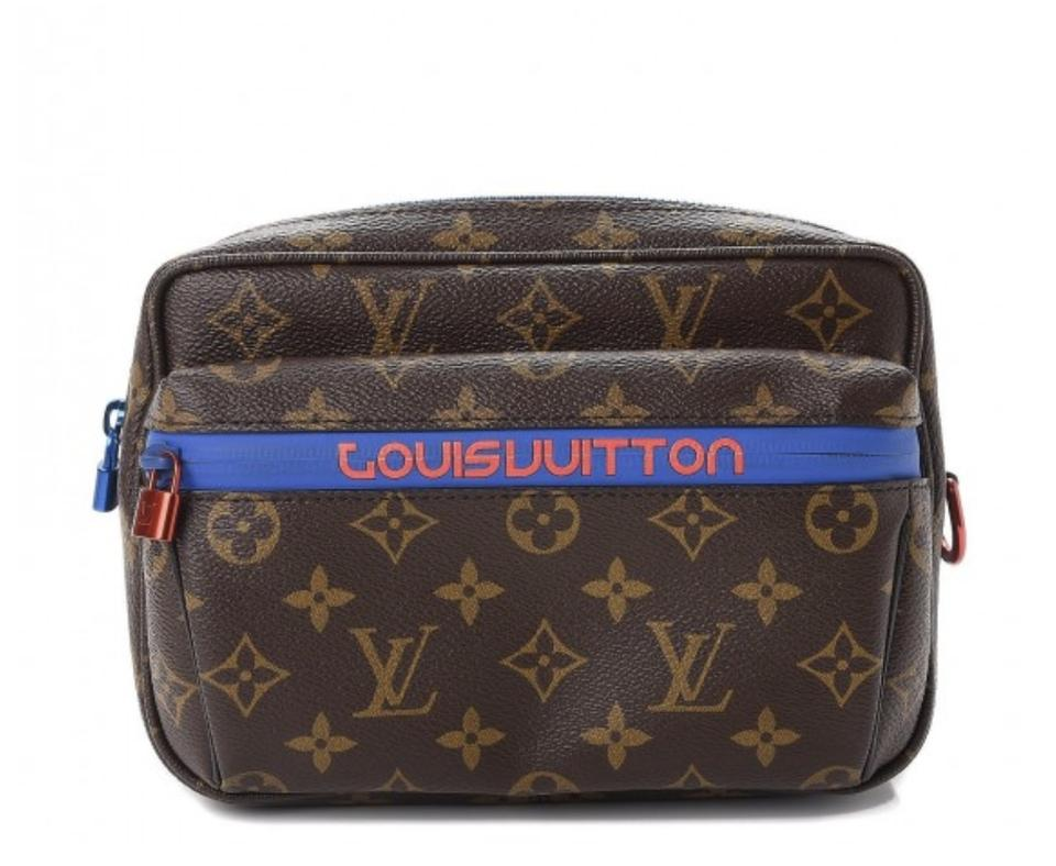 4ae13f69376b Louis Vuitton Bumbag 2018 Pop Up Monogram Outdoor Fanny Pack Pacific ...