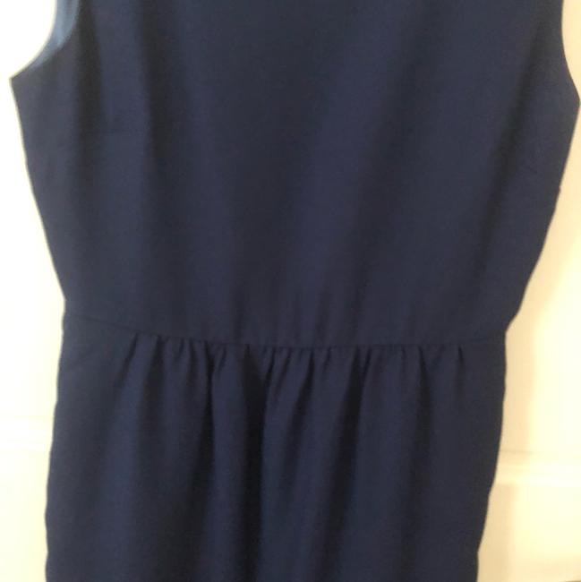 53c4082ca76 J.Crew Navy Blue Traditional Work Play Mid-length Short Casual Dress ...