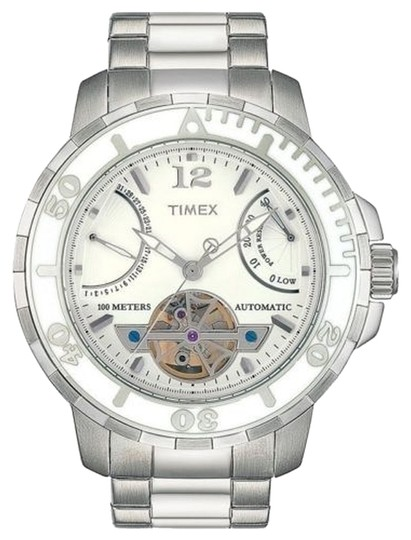 Timex Timex Male Dress Watch T2M517 White Chronograph