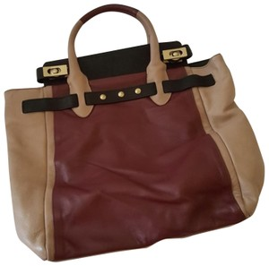 Be&D Satchel in Tri color