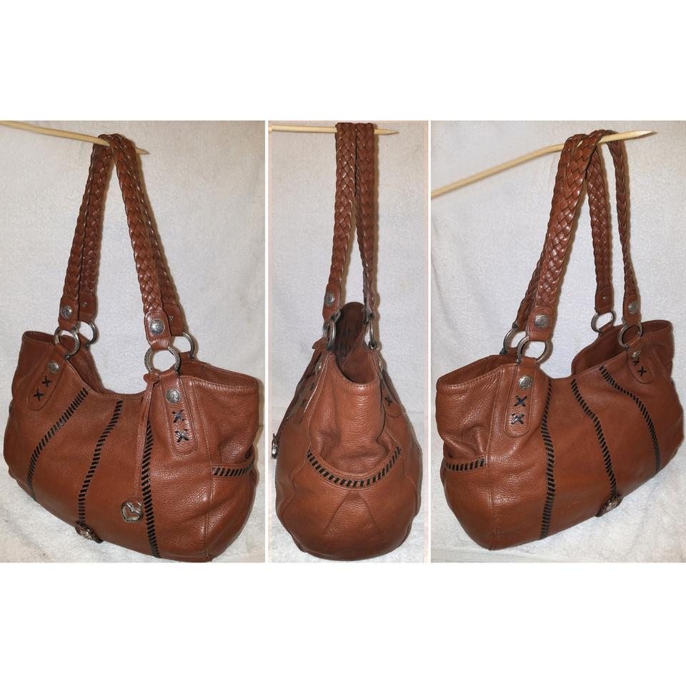 Brighton Extra-large Handbag Cognac Brown Leather Hobo Bag - Tradesy a0362b316c3e2