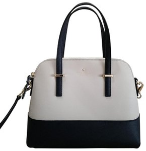 Kate Spade Satchel in Cream and navy blue