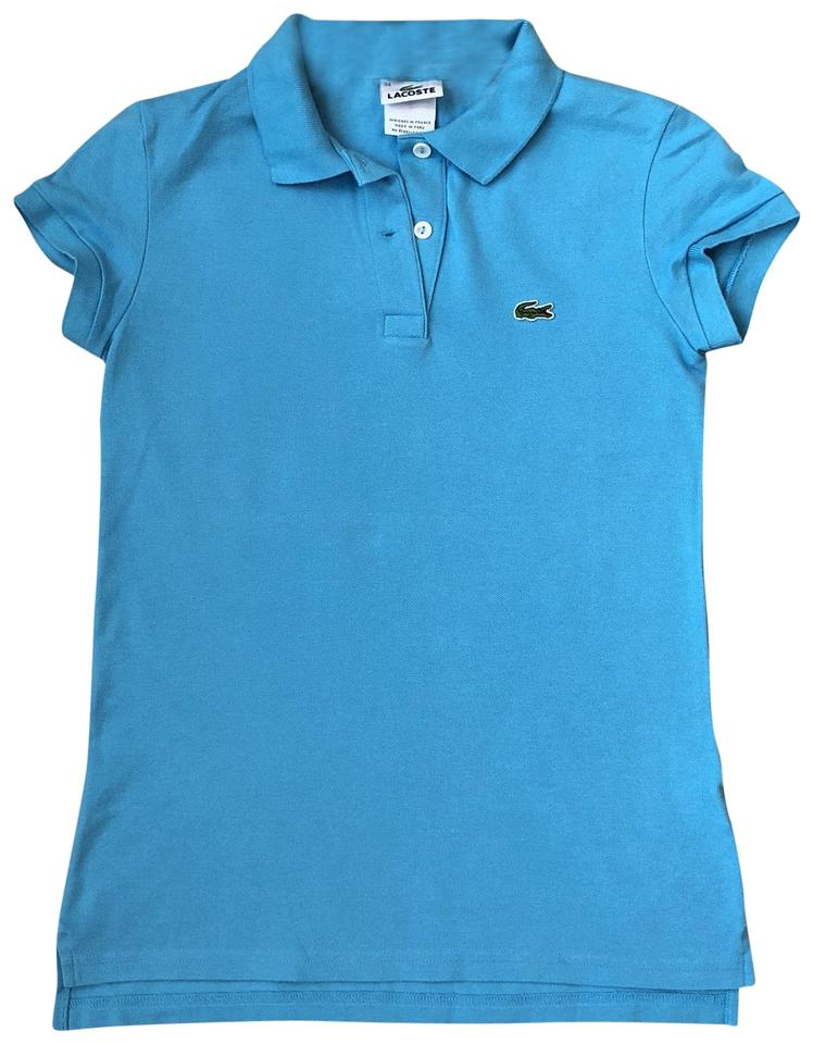 69841b40 Lacoste Light Blue Two-button Classic Fit Polo Tee Shirt Size 2 (XS ...