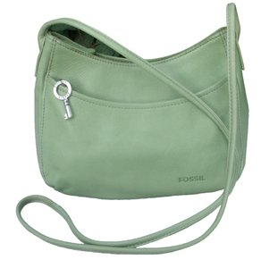 Fossil Slouch Mini Saddle Leather Cross Body Bag