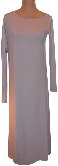 Item - Gray Stretch Fabric Perfect For All Occas Long Night Out Dress Size 6 (S)