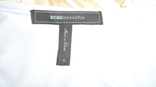 BCBGMAXAZRIA Gray Stretch Fabric Perfect For All Occas Long Night Out Dress Size 6 (S) BCBGMAXAZRIA Gray Stretch Fabric Perfect For All Occas Long Night Out Dress Size 6 (S) Image 5