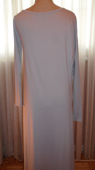 BCBGMAXAZRIA Gray Stretch Fabric Perfect For All Occas Long Night Out Dress Size 6 (S) BCBGMAXAZRIA Gray Stretch Fabric Perfect For All Occas Long Night Out Dress Size 6 (S) Image 7