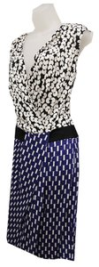 Diane von Furstenberg Silk V-neck Dress
