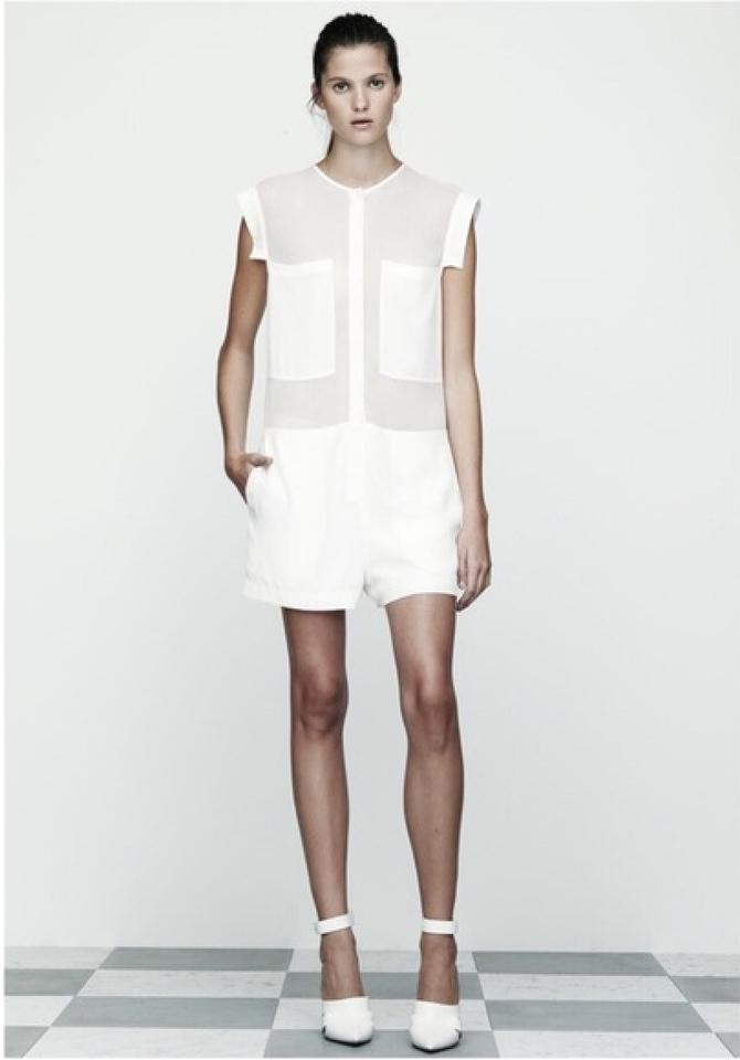 a1142050fd43 T by Alexander Wang White 11512 Romper Jumpsuit - Tradesy