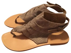 Bamboo grayish- brown color Sandals