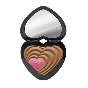 Too Faced TOO FACED Soul Mates ROSS & RACHEL Blushing Bronzer Heart Duo