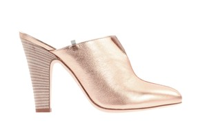 SJP by Sarah Jessica Parker Rose Gold Pink Mules
