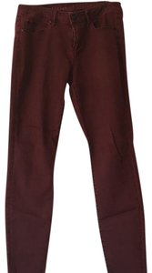 Articles of Society Straight Pants Burgundy
