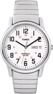 Timex Timex Male Elevated Classics Watch T2N091 Silver Analog
