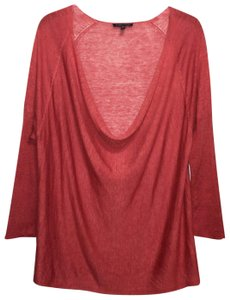 Eileen Fisher Top Red-Orange