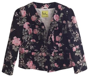 Paul Smith Black background with floral design Blazer