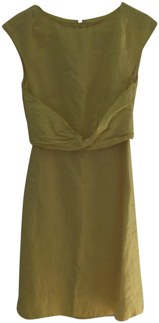 Item - Lemon Yellow A5616 Mid-length Formal Dress Size 00 (XXS)