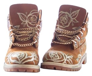Timberland Gold Boots