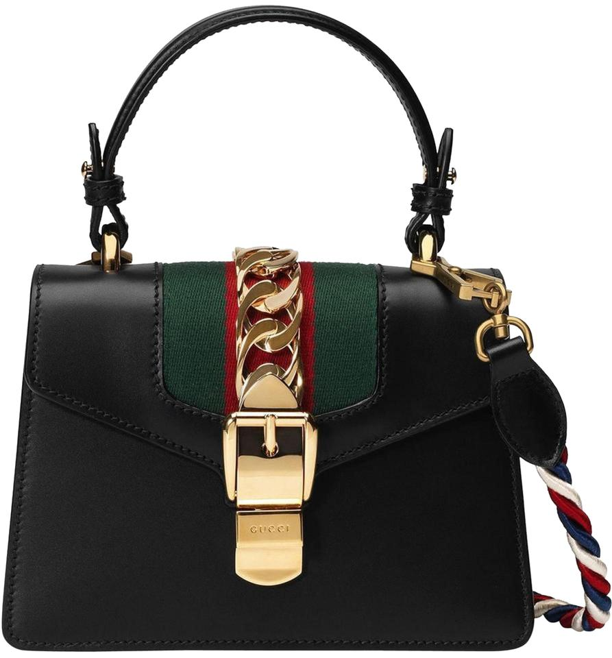 897d3c0e3bcc Gucci Sylvie New Mini Cross Body Bag - Tradesy