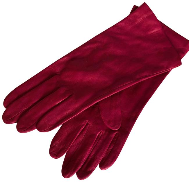 Item - Pink Leather Gloves