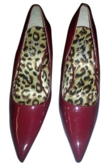 David Dalrymple for House of Field candy apple red Pumps