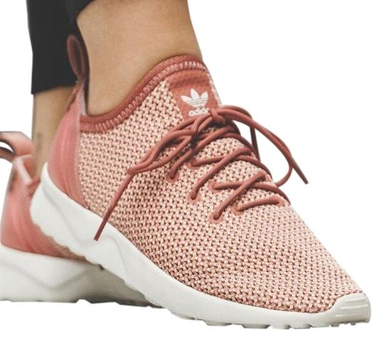 online retailer 361c8 25b8b adidas Raw Pink Zx Flux Adv Virtue Sock Sneakers Size US 9 Regular (M, B)