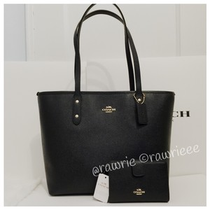 Coach Set Matching Set Gift Set Set Leather Set Tote in Black
