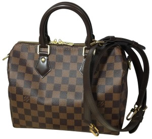 3470ac26ab93b Louis Vuitton Lv Speedy 25 Lv Speedy B Bandouliere 25 Speedy Damier Ebene  Cross Body Bag