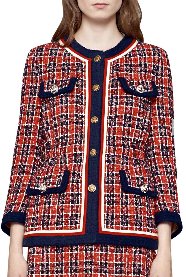 1cdb33112 Gucci GUCCI Tweed check jacket . New Collection Pre-fall 2018 Image 0 ...