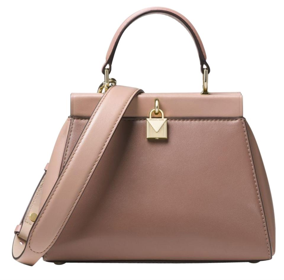 8be5a4d70c13 Michael Kors Gramercy Small Color-block Frame Leather Satchel - Tradesy