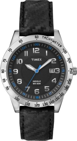 Timex Timex Male Elevated Classics Watch T2N920 Silver Analog