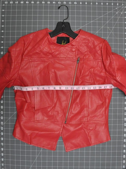 Jack by BB Dakota Red Leather Jacket