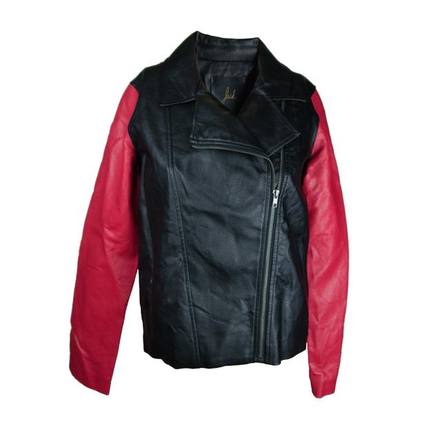 Preload https://img-static.tradesy.com/item/23679172/jack-by-bb-dakota-black-red-faux-motorcycle-leather-jacket-size-6-s-0-0-650-650.jpg