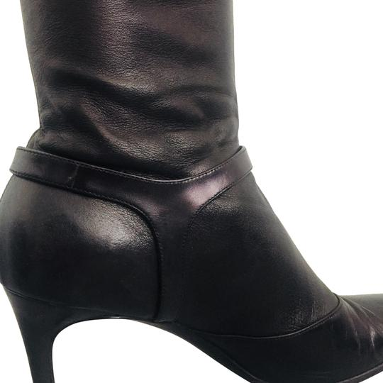 Preload https://img-static.tradesy.com/item/23679239/helmut-lang-black-leather-slip-on-bootsbooties-size-eu-39-approx-us-9-regular-m-b-0-2-540-540.jpg