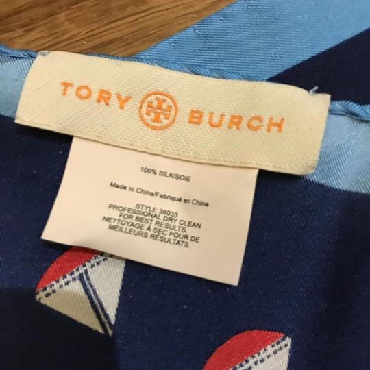 Tory Burch AHOY NECKERCHIEF navy