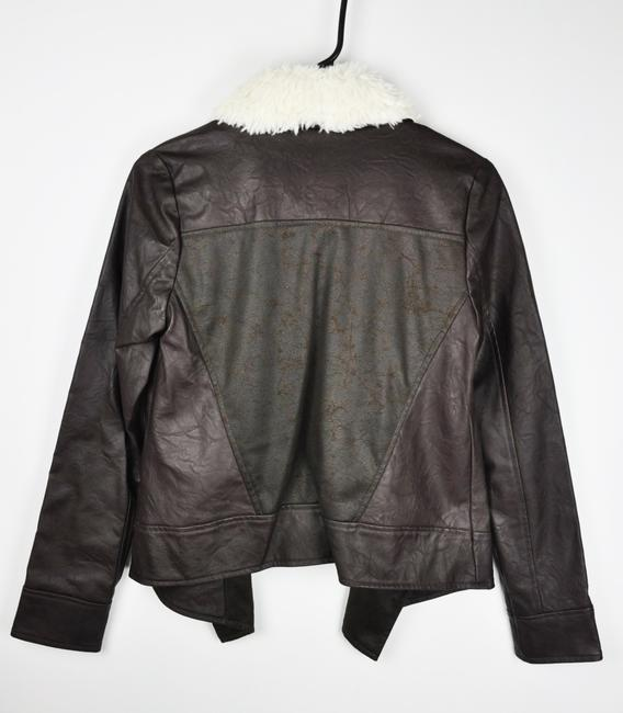 Jack by BB Dakota Brown Leather Jacket